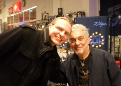 Steve Gadd & yours truly